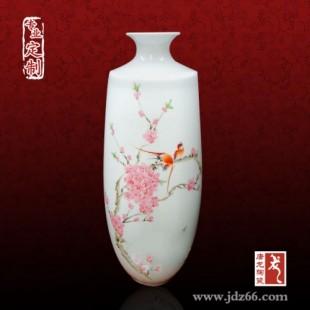 年会年终礼品 纪念品送陶瓷小花瓶