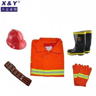 消防服,消防战斗服,阻燃服,防火服橙色分体2XL码批发定做