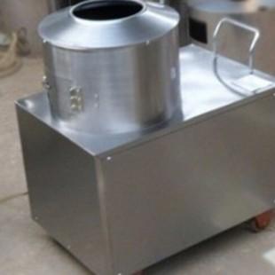 刚察县二手的土豆去皮机 新一代削皮机效果展示