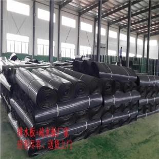 不镂空卷材排水板厂家(凸片排水板抗压强度高)
