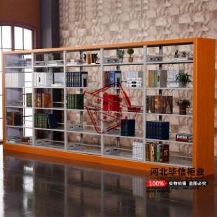 毕信诺威品牌图书馆钢制书架厂家直销 质保十年终身维护