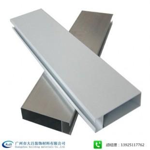 批发供应大吕滚涂木纹铝方通 走廊办公室吊顶铝方通