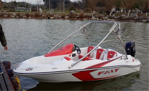 48米高速艇小型快艇休闲商务豪华快艇钓鱼艇
