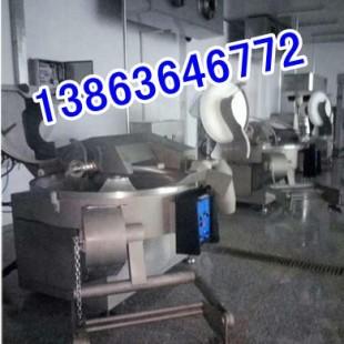 诸城200斩拌机生产厂家春秋200型变频斩拌机价格