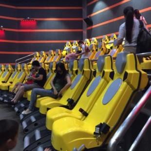 河北4D动感影院中心 三自由度动感座椅