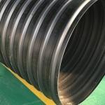 厂家直销PE钢带管 钢带增强缠绕管 螺旋波纹管 排水排污管