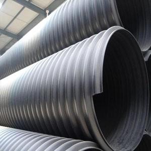 供兰州pe钢带管和甘肃HDPE钢带增强波纹管价格低