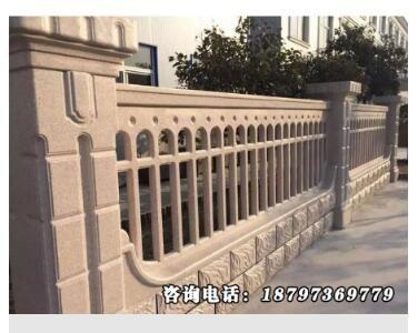 供西宁河沿围栏和青海仿汉白玉河沿围栏特点