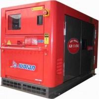 供应巨电静音豪华型柴油发电机KJD13000T