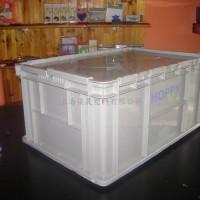 上海塑料周转箱/翻盖物流箱
