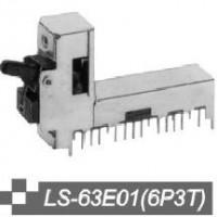 吉威电子供应拨动开关LS-63E01(6P3T)  .
