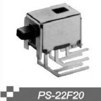 单刀双掷拨动开关PS-22F20