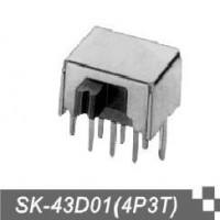 优质滑动拨动开关SK-43D01(4P3T).