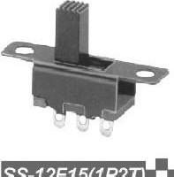 ...拨动开关 SS-12F15(1P2T)立体式拨动开关商