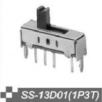 波动开关SS-13D01波动开关开关(1P3T)波动开关SS-12D02拨动开关SS-12D03