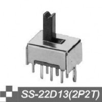 拨动开关供应拨动 SS-22D13(2P2T)拨动开关厂商