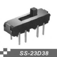 供应拨动开关SS-23D38卧式拨动开关、插脚拨动开关商