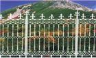 天津武清区加工铁艺围墙,铁艺围栏栏杆,铁艺大门门楼