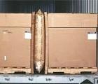 物流运输填充袋,海运运输保护充气袋,托盘之间空位填充气袋