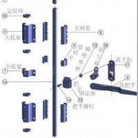集装箱门锁具/锁头/门铰链