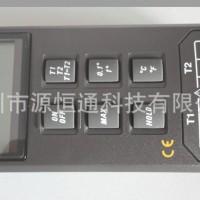台湾泰仕温度计双通道TES 1303温度表