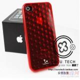 广州供应 iphone 4保护套 透明手机套 水晶套 苹果4代手机套