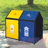河南郑州快速公交专用垃圾桶