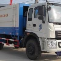 福田瑞沃10方压缩式垃圾车