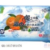 沧州玫瑰缘湿巾冰爽の族 系列洁肤湿巾 香橙味 10片装