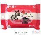 沧州玫瑰缘湿巾卡通の族 洁肤湿巾 小斑马蓝莓味 10片装批发货源