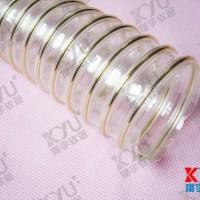 透明PU钢丝缠绕软管