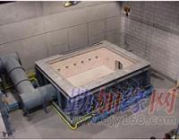 水平耐火构建试验炉