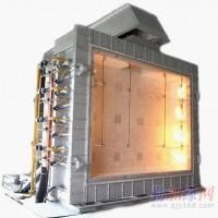 大型水平/垂直样品液压倾摆耐火性测试炉
