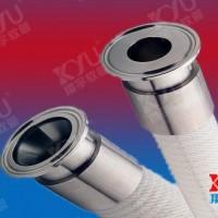 四层钢丝编织强化硅胶管