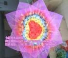 深圳火爆地摊夜市货源新品-七彩夜光花、手工玫瑰花、仿真玫瑰5000朵/400元