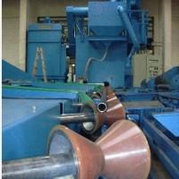 河南油田抽油杆内壁喷丸机,油管内壁清理除锈机,青岛坤钰霖钢管