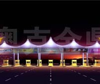 郑州景观设施膜结构