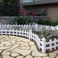 芜湖PVC护栏 芜湖PVC草坪护栏  PVC草坪园艺塑钢护栏