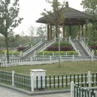 滁州草坪围栏 滁州PVC园艺栅栏 塑钢绿化花坛护栏供销商