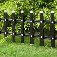 泰州PVC护栏 泰州PVC草坪塑钢围栏 PVC型材配件直销