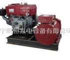 常柴8KW柴油发电机组配有刷电机8千瓦农用柴油发电机直销