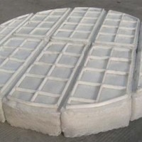 进口100%纯聚四氟乙烯丝网除沫器 PTFE格栅 F4支撑架