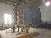 滚筒式连续炭化机四川大型卧式节能环保无污染