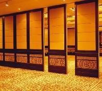 群艺85型惠州酒店活动隔断扪布屏风