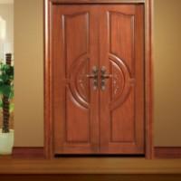 云浮实木烤漆门,沙比利原木门,森皇门厂