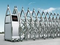 较好的厂用伸缩门 品质电动伸拉门 无锡市友谊厂商