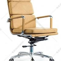真皮舒适软包大班椅 可升降式皮椅 真皮经理椅