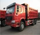 豪沃欧二标准5.6米自卸车371马力出口非洲
