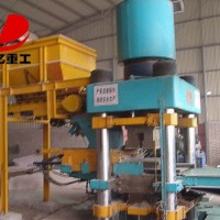 蒸压砖机是德亿厂家主打产品以其一机多用的优势备受肯定