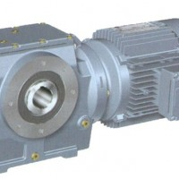 高精度结构紧凑SA107斜齿轮蜗杆减速机上海诺广